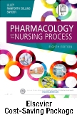 cover image - Pharmacology and the Nursing Process -- Text and Elsevier Adaptive Quizzing Package,8th Edition