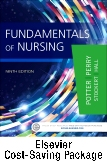 cover image - Fundamentals of Nursing  - Single-Volume Text and Elsevier Adaptive Quizzing Package,9th Edition