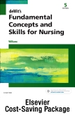 cover image - deWit's Fundamental Concepts and Skills for Nursing - Text and Virtual Clinical Excursions Online Package,5th Edition