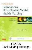 cover image - Varcarolis' Foundations of Psychiatric Mental Health Nursing - Text and Virtual Clinical Excursions Online Package,7th Edition