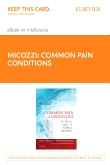 cover image - Common Pain Conditions - Elsevier eBook on Vital Source (Retail Access Card)