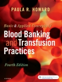 cover image - Evolve Resources for Basic & Applied Concepts of Blood Banking and Transfusion Practices,4th Edition