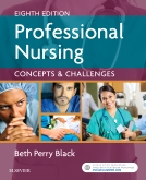 cover image - Evolve Resources for Professional Nursing,8th Edition