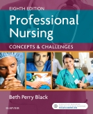 cover image - Professional Nursing,8th Edition