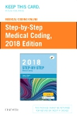 cover image - Medical Coding Online for Step-by-Step Medical Coding, 2018 Edition (Access Card)