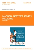 cover image - Netter's Sports Medicine Elsevier eBook on VitalSource (Retail Access Card),2nd Edition