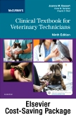 cover image - McCurnin's Clinical Textbook for Veterinary Technicians - Textbook and Workbook Package,9th Edition