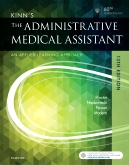 cover image - Kinn's the Administrative Medical Assistant - Elsevier eBook on VitalSource,13th Edition