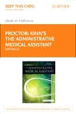 Kinn's The Administrative Medical Assistant - Elsevier eBook on Vital Source (Retail Access Card), 13th Edition
