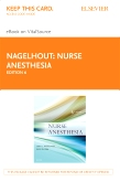 cover image - Nurse Anesthesia - Elsevier eBook on VitalSource (Retail Access Card),6th Edition