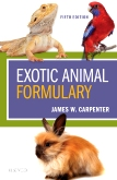 cover image - Exotic Animal Formulary,5th Edition