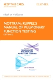 cover image - Ruppel's Manual of Pulmonary Function Testing - Elsevier eBook on VitalSource (Retail Access Card),11th Edition