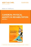 cover image - Physical Agents in Rehabilitation - Elsevier eBook on VitalSource (Retail Access Card),5th Edition