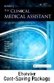 cover image - Kinn's The Clinical Medical Assistant - Text and Study Guide & Procedure Checklist Manual Package,13th Edition