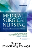 cover image - Medical-Surgical Nursing - Single Volume Text and Elsevier Adaptive Quizzing - Nursing Concepts Package,10th Edition