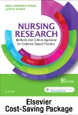 cover image - Nursing Research - Text and Study Guide Package,9th Edition