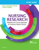 cover image - Study Guide for Nursing Research - Elsevier eBook on VitalSource,9th Edition