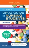 cover image - Mosby's Drug Guide for Nursing Students, with 2018 Update - Pageburst eBook on VitalSource,12th Edition