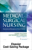 cover image - Medical-Surgical Nursing (Two-Volume set) - Text and Elsevier Adaptive Quizzing Package,10th Edition