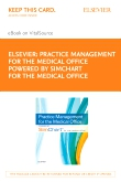 cover image - Practice Management for the Medical Office powered by SimChart for The Medical Office - Elsevier eBook on VitalSource (Retail Access Card)