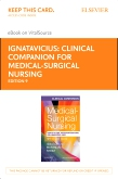 cover image - Clinical Companion for Medical-Surgical Nursing - Elsevier eBook on VitalSource (Retail Access Card),9th Edition