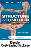 cover image - Elsevier Adaptive Learning and Quizzing Package for Structure & Function of the Body (Access Cards),15th Edition