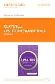 cover image - LPN to RN Transitions - Elsevier eBook on VitalSource (Retail Access Card),4th Edition