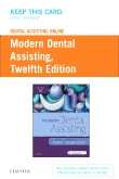cover image - Dental Assisting Online for Modern Dental Assisting (Access Card),12th Edition