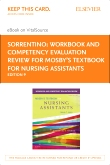 cover image - Workbook and Competency Evaluation Review for Mosby's Textbook for Nursing Assistants - Elsevier eBook on VitalSource (Retail Access Card),9th Edition