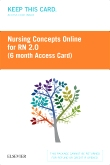 cover image - Nursing Concepts Online – RN 2.0 (6 month Access Card) BY SUBSCRIPTION ONLY,2nd Edition