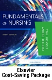 Fundamentals of Nursing - Text, Study Guide, and Mosby's Nursing Video Skills - Student Version DVD 4e Package, 9th Edition