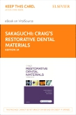 cover image - Craig's Restorative Dental Materials - Elsevier eBook on VitalSource (Retail Access Card),14th Edition