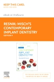 cover image - Misch's Contemporary Implant Dentistry - Elsevier eBook on VitalSource (Retail Access Card),4th Edition