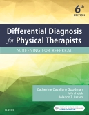 cover image - Differential Diagnosis for Physical Therapists,6th Edition