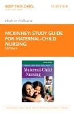 cover image - Study Guide for Maternal-Child Nursing - Elsevier eBook on VitalSource (Retail Access Card),5th Edition