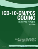 cover image - Evolve Resources for ICD-10-CM/PCS Coding Theory and Practice, 2017 Edition