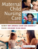 cover image - Evolve Resources for Maternal Child Nursing Care,6th Edition
