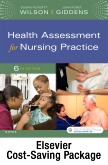 cover image - Health Assessment for Nursing Practice - Text and Student Lab Manaual Package,6th Edition
