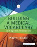 cover image - Building a Medical Vocabulary - Elsevier eBook on VitalSource,10th Edition