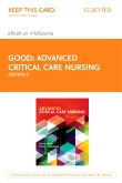 cover image - Advanced Critical Care Nursing - Elsevier eBook on VitalSource (Retail Access Card),2nd Edition