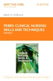cover image - Clinical Nursing Skills and Techniques - Elsevier eBook on VitalSource (Retail Access Card),9th Edition