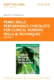 cover image - Skills Performance Checklists for Clinical Nursing Skills & Techniques - Elsevier E-book on VitalSource (Retail Access Card),9th Edition