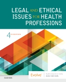cover image - Legal and Ethical Issues for Health Professions,4th Edition