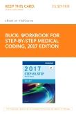 cover image - Workbook for Step-by-Step Medical Coding, 2017 Edition - Elsevier eBook on VitalSource (Retail Access Card)