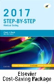 cover image - Step-by-Step Medical Coding, 2017 Edition – Text and Workbook Package