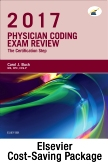 cover image - Physician Coding Exam Review 2017 – Elsevier eBook on VitalSource + Evolve Access (Retail Access Cards)