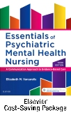 cover image - Essentials Psychiatric Mental Health Nursing, - Text and Elsevier Adaptive Quizzing Package