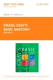 cover image - Gray's Basic Anatomy Elsevier eBook on Vitalsource (Retail Access Card),2nd Edition