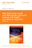 cover image - Study Guide and Procedure Checklist Manual for Kinn's The Medical Assistant - Elsevier E-Book on VitalSource (Retail Access Card),13th Edition