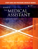 cover image - Study Guide and Procedure Checklist Manual for Kinn's The Medical Assistant - E-Book,13th Edition